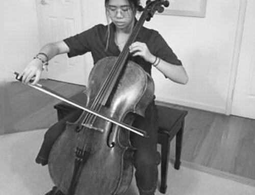 2020 WAYO Cello Scholarship Recipient – Tiffany Lee